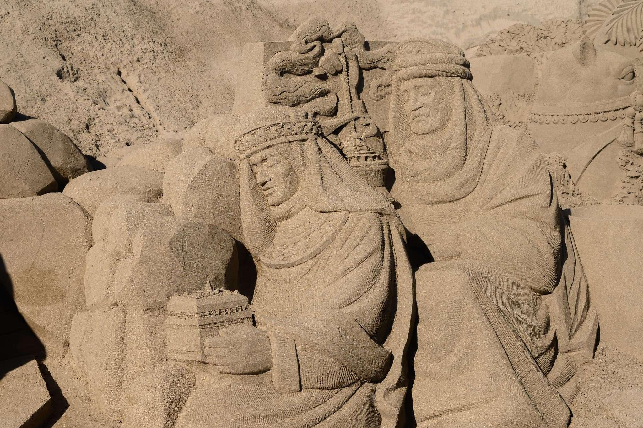 Un original Belén de arena para la navidad en Gran Canaria 66