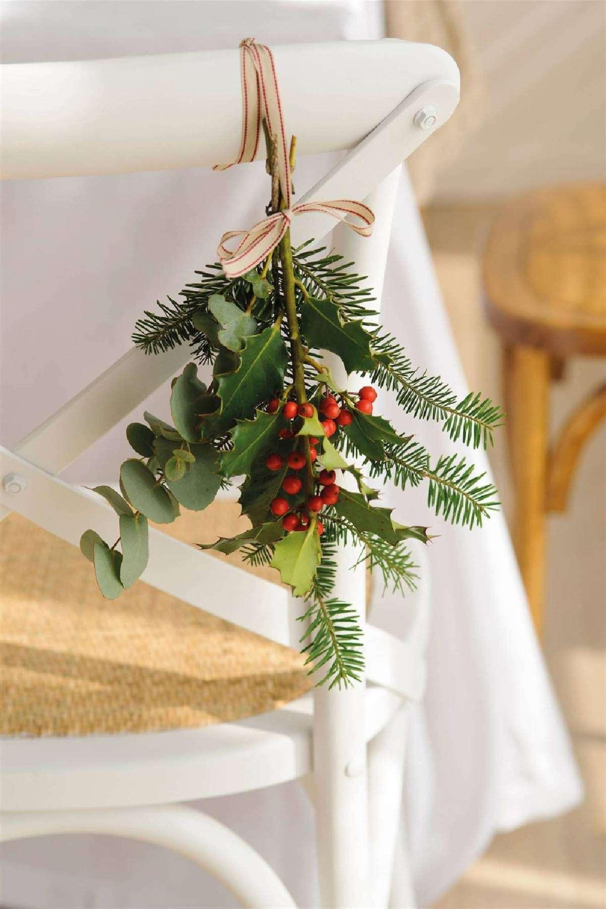 Creativas ideas para la decoración de la mesa navideña 11
