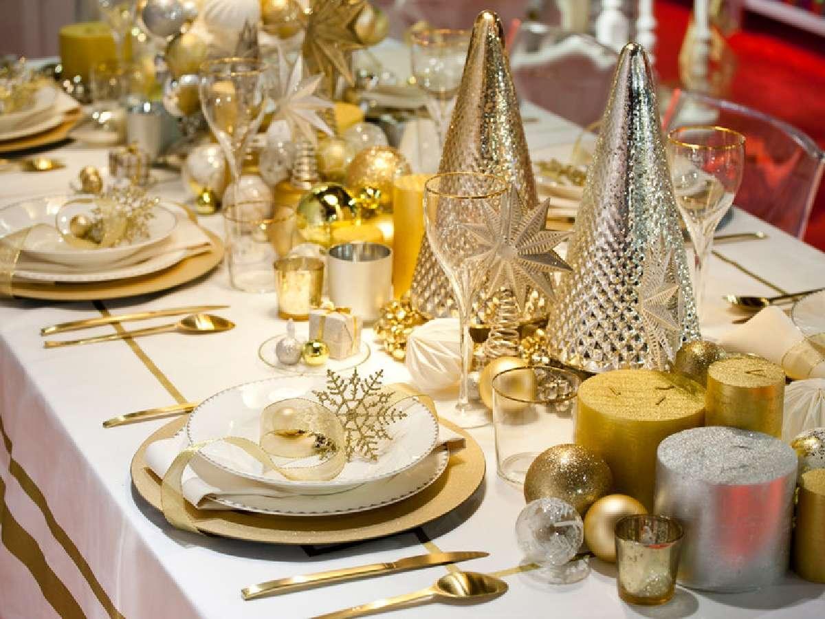 Creativas ideas para la decoración de la mesa navideña 2