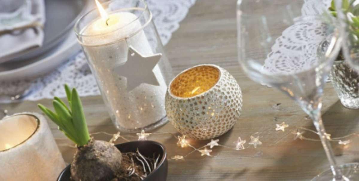 Creativas ideas para la decoración de la mesa navideña 13