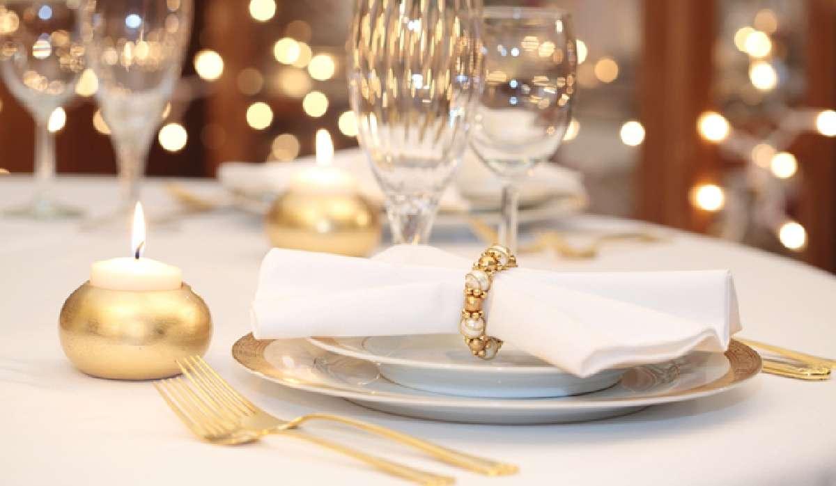 Creativas ideas para la decoración de la mesa navideña 5