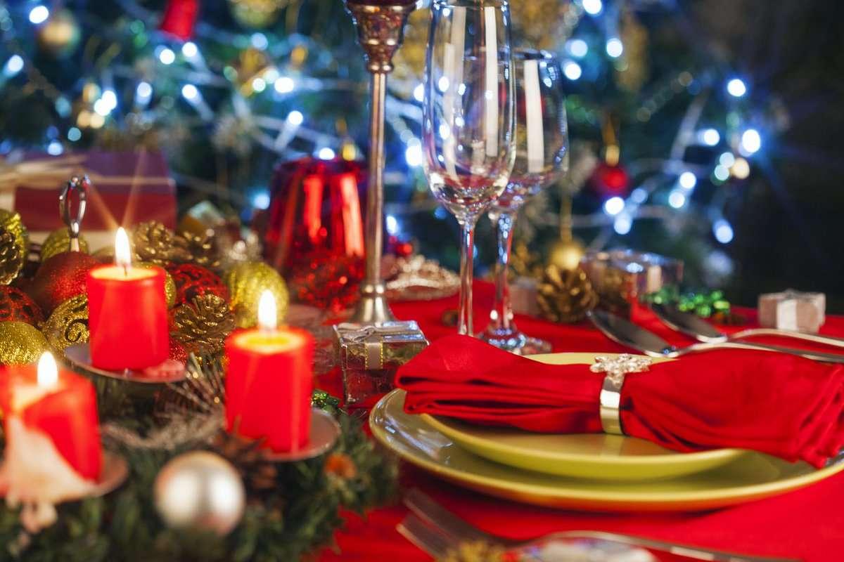 Creativas ideas para la decoración de la mesa navideña 4