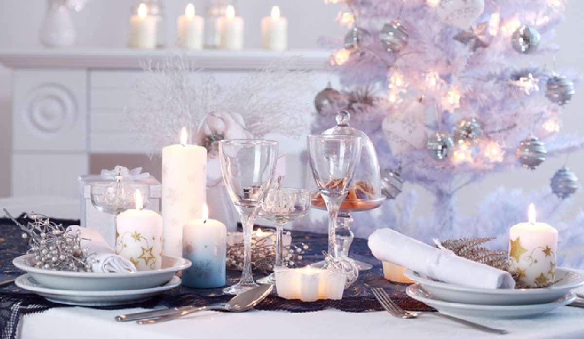 Creativas ideas para la decoración de la mesa navideña 6