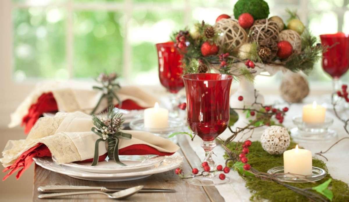 Creativas ideas para la decoración de la mesa navideña 8