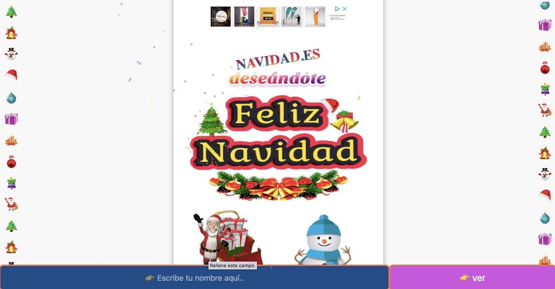 Feliz Navidad y año nuevo estilo año 80 con gifs animados 273