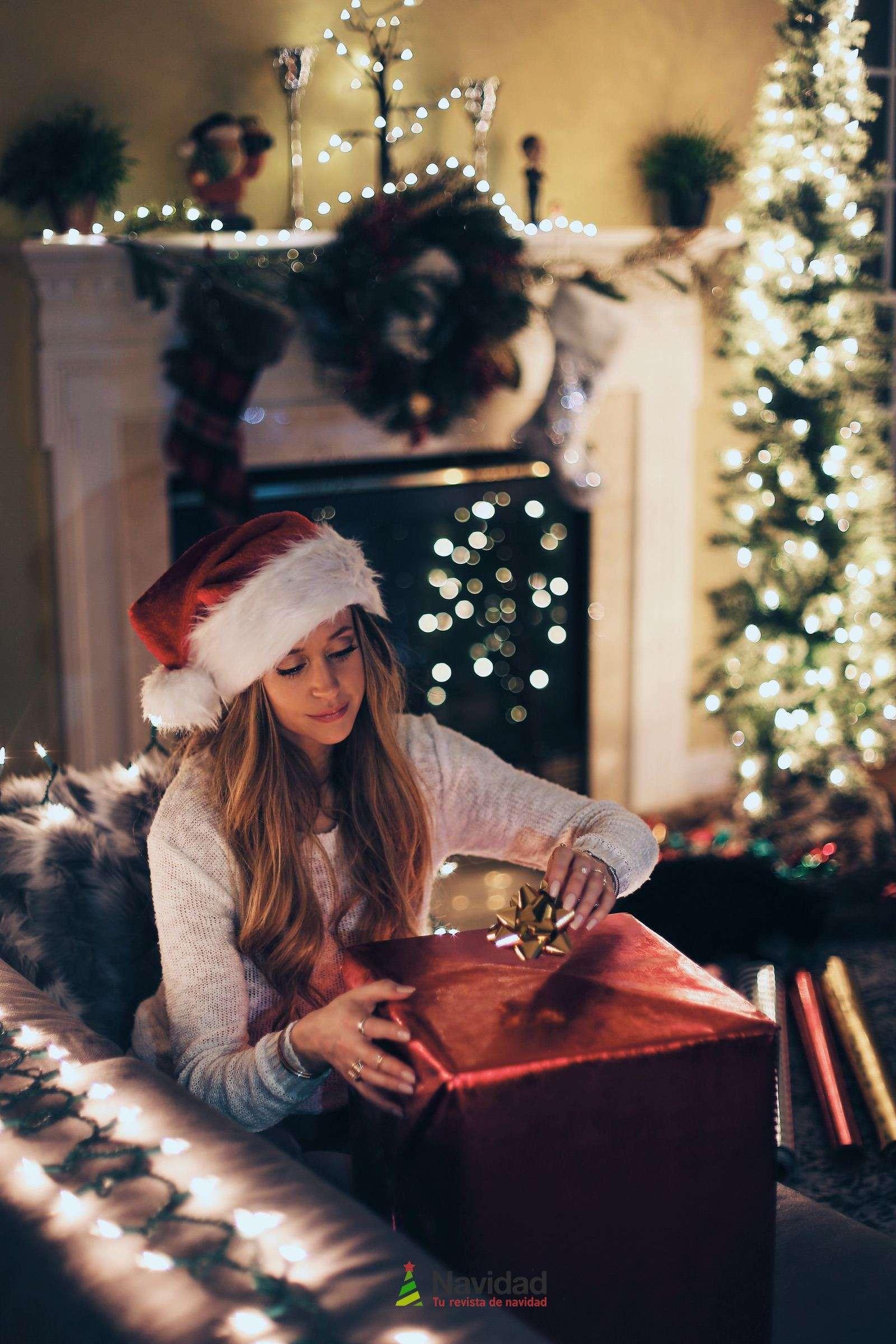 Chimeneas de Navidad para decorar y dar calor en fiestas 55