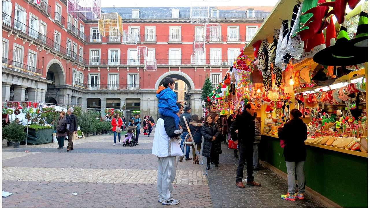 mercadillos navidenos Madrid