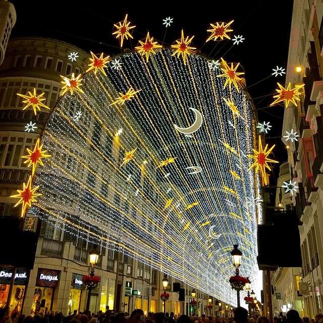 iluminacion Navidad Malaga