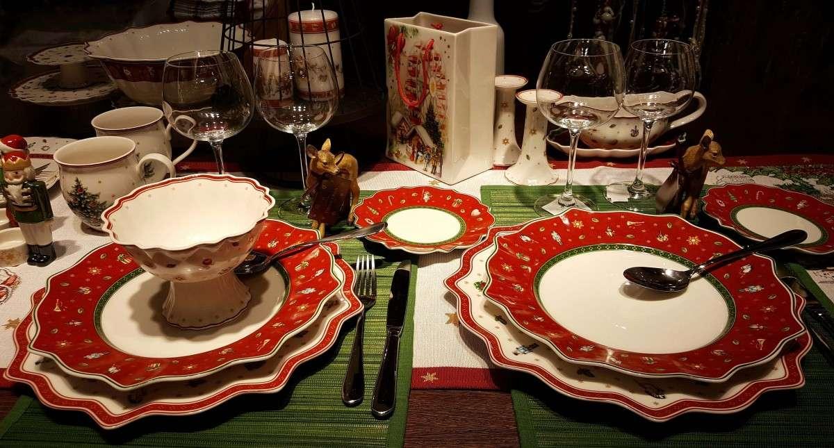 Preparando la mesa para la Navidad 1