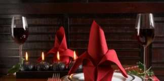 servilletas navidad manualidades