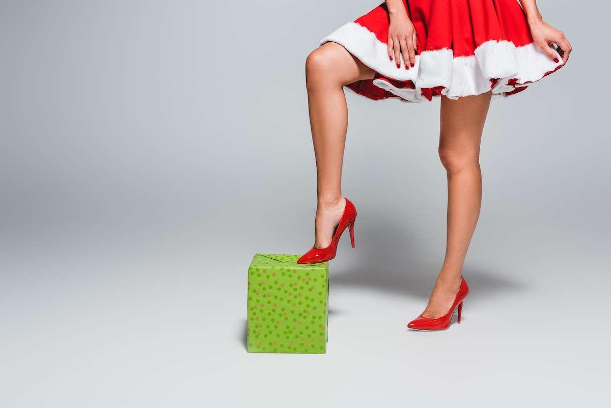 Las fiestas navideñas llenas lesiones y molestias por el uso de tacones 5