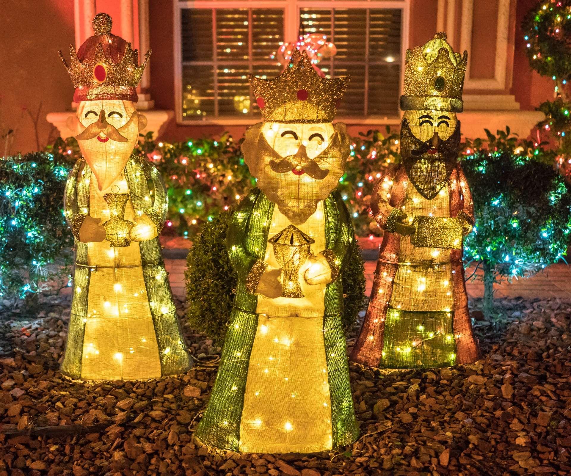 Papa Noel y Reyes Magos