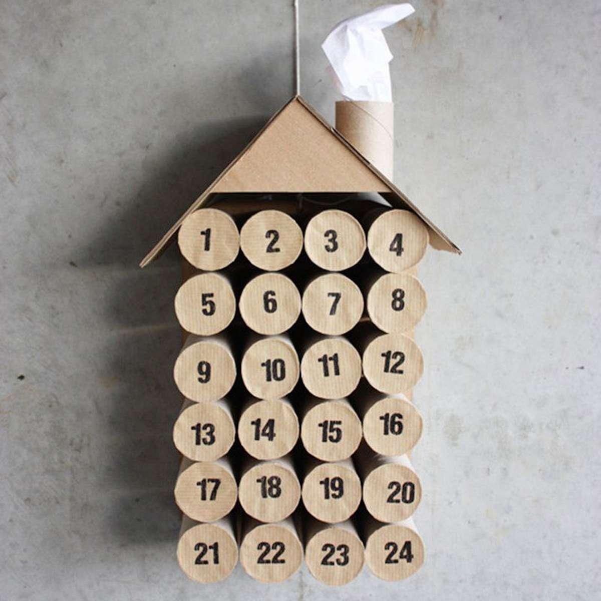 Calendarios de Adviento caseros para los más pequeños de la casa 7