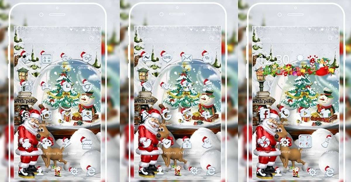 Los mejores temas navideños para tu móvil 1