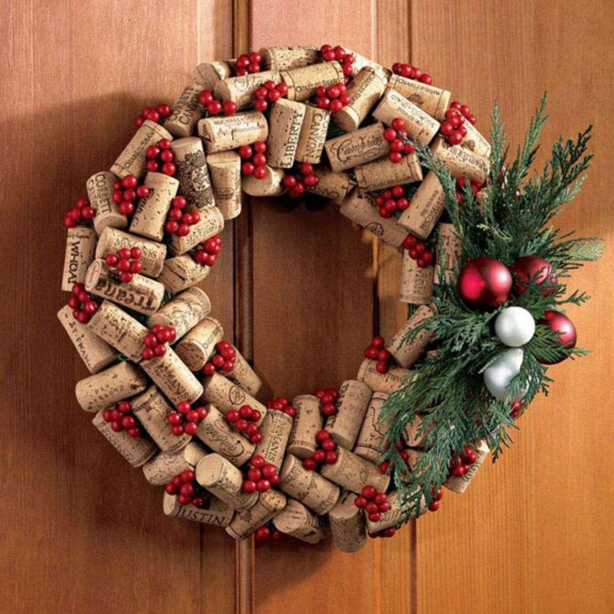 Decoración navideña sostenible 4