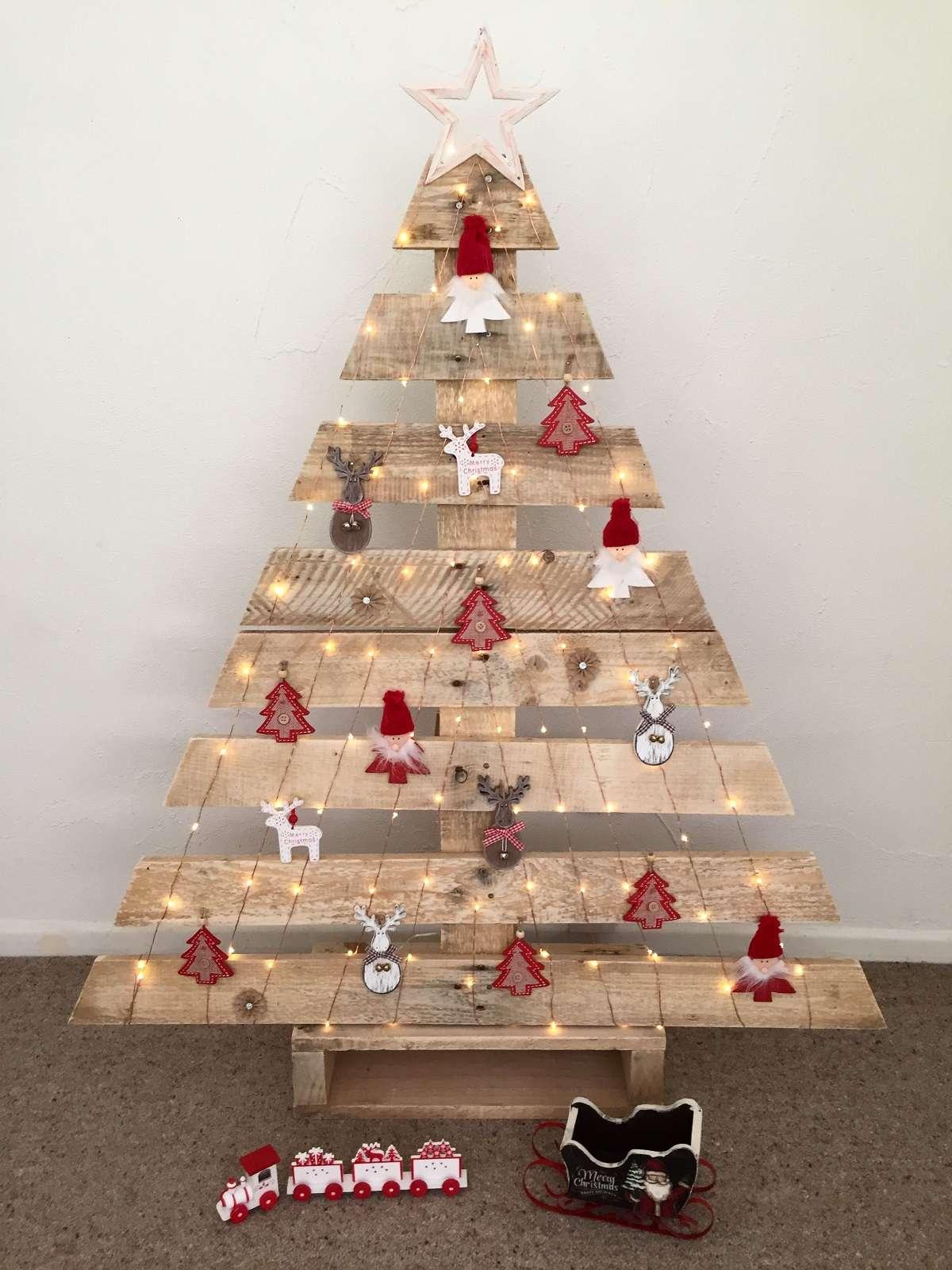 Decoración navideña sostenible 8