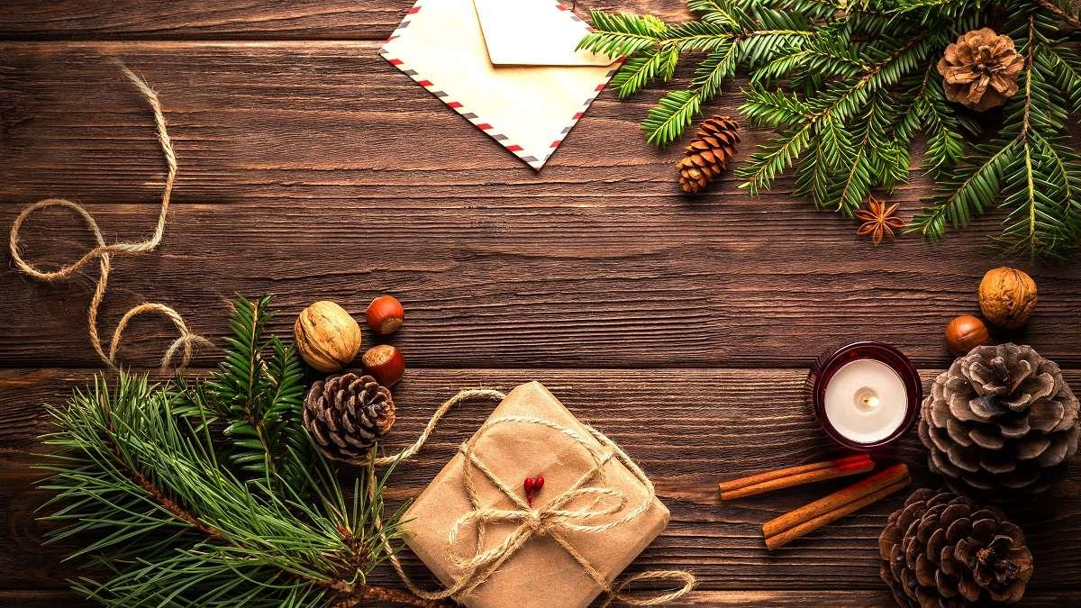 Decoración navideña sostenible 1