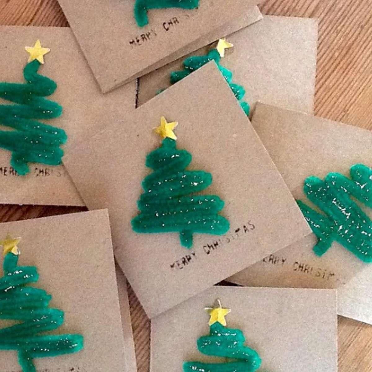 Originales tarjetas navideñas para felicitar las fiestas 1
