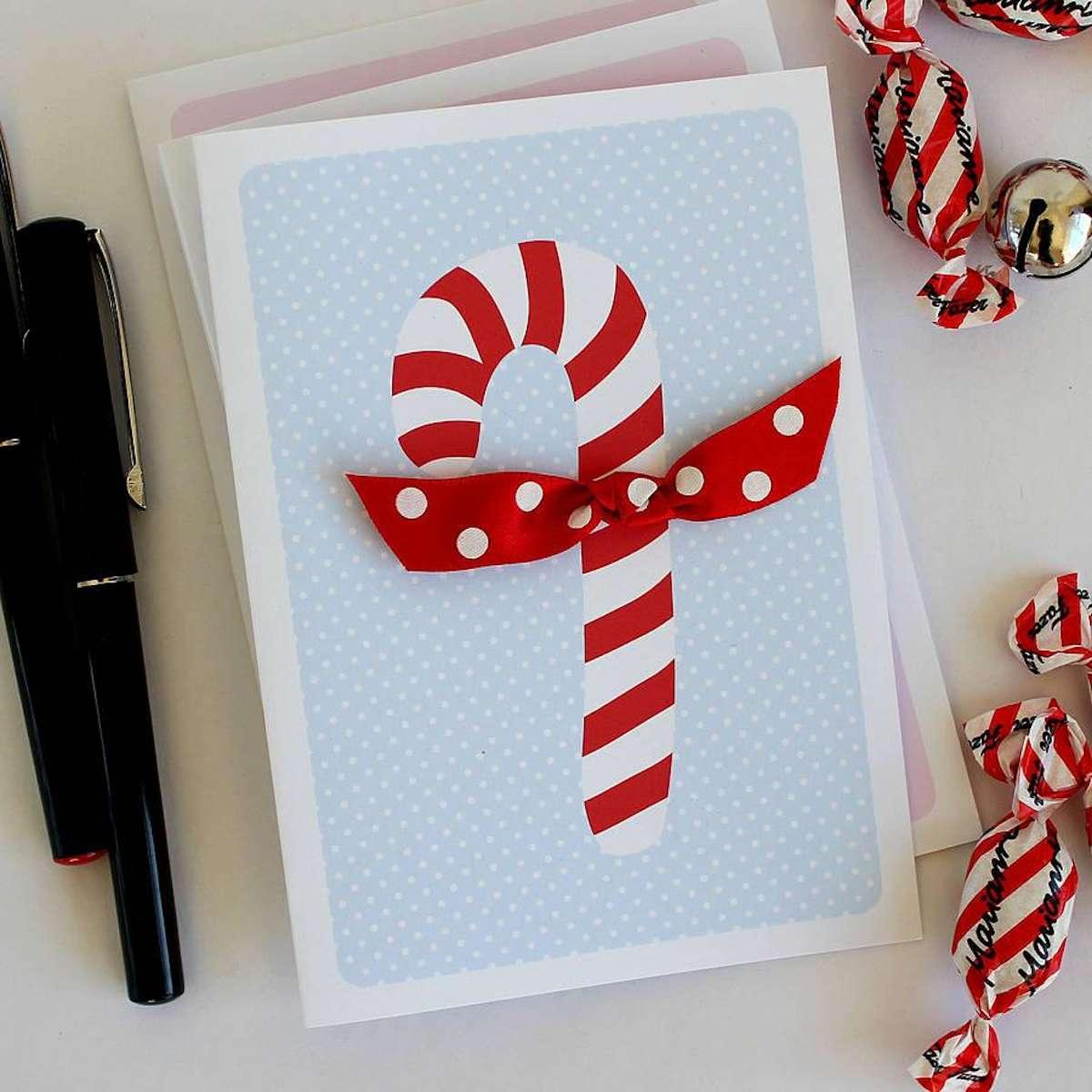 Originales tarjetas navideñas para felicitar las fiestas 7