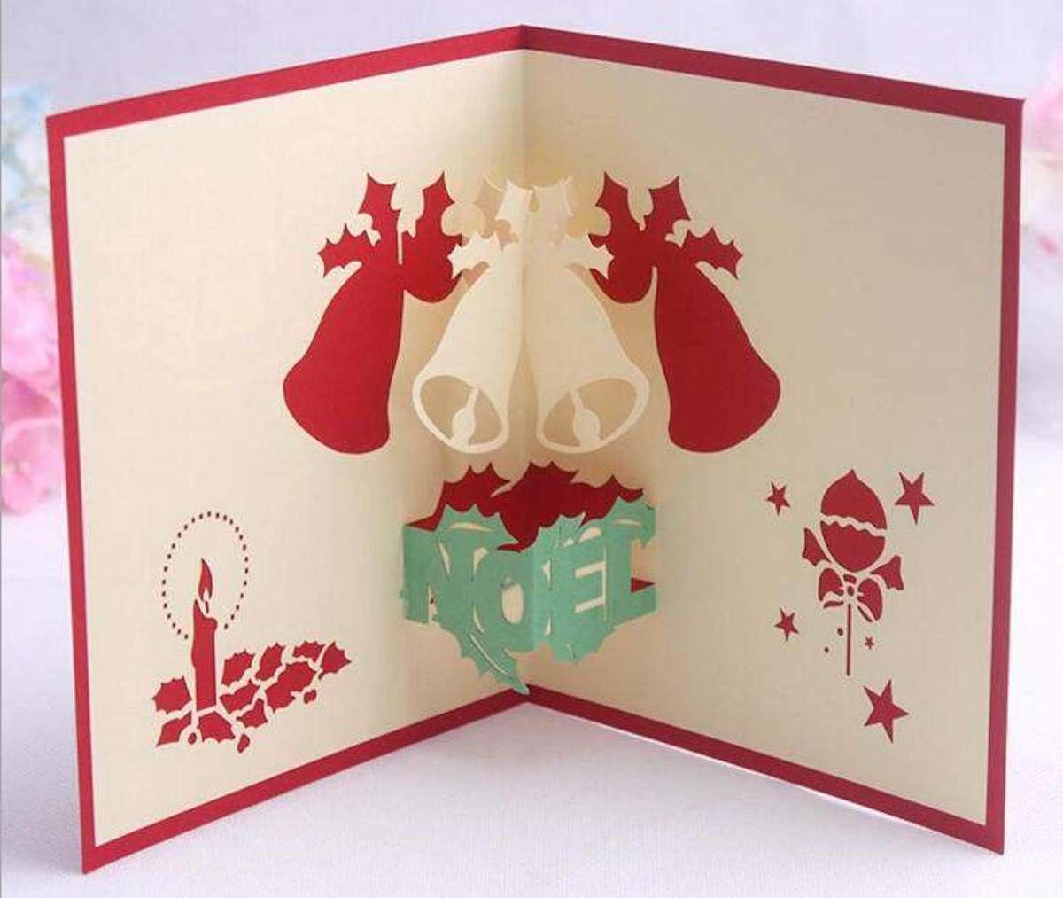 Originales tarjetas navideñas para felicitar las fiestas 10