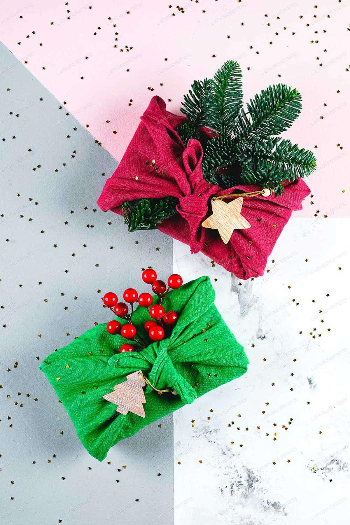 Sorprendentes ideas para envolver los regalos de Navidad 10