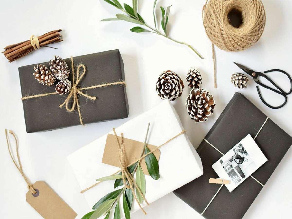Sorprendentes ideas para envolver los regalos de Navidad 2