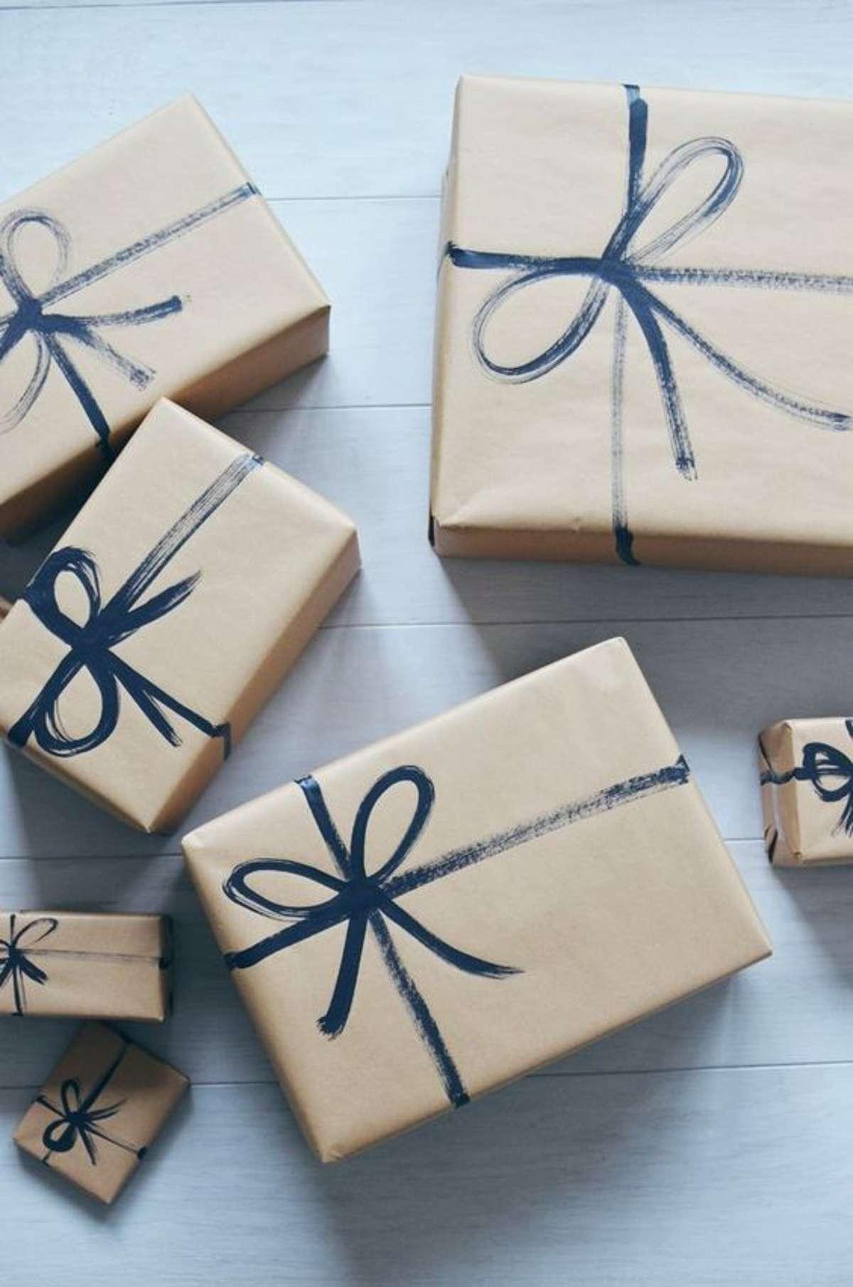 Sorprendentes ideas para envolver los regalos de Navidad 9