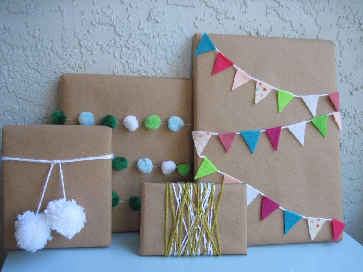 Sorprendentes ideas para envolver los regalos de Navidad 4