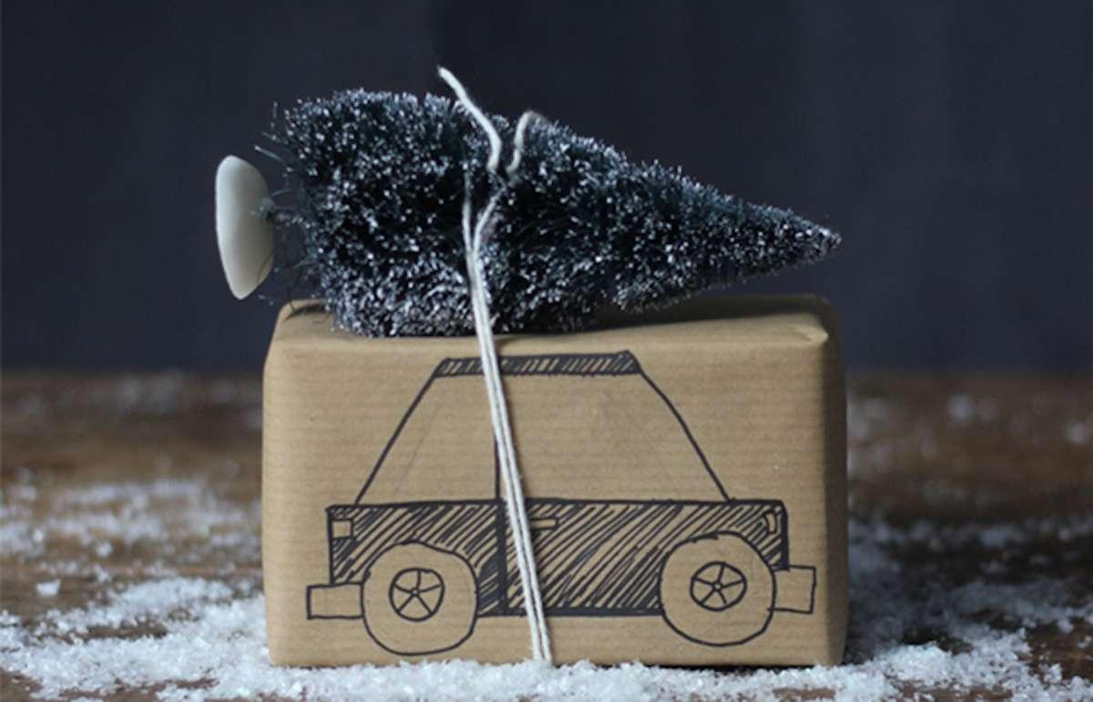 Sorprendentes ideas para envolver los regalos de Navidad 7