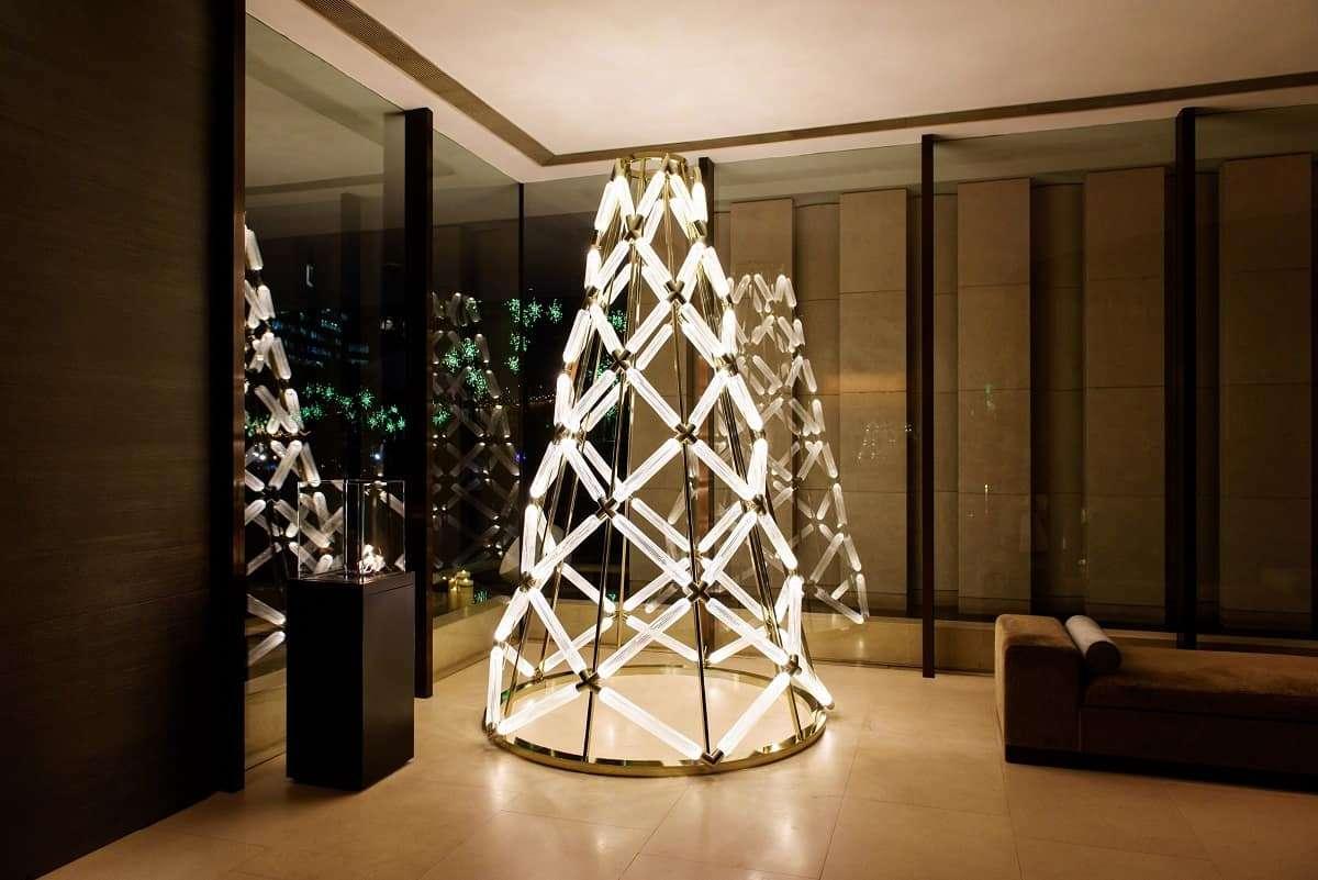 Originales y sorprendentes árboles de diseño para Navidad 4