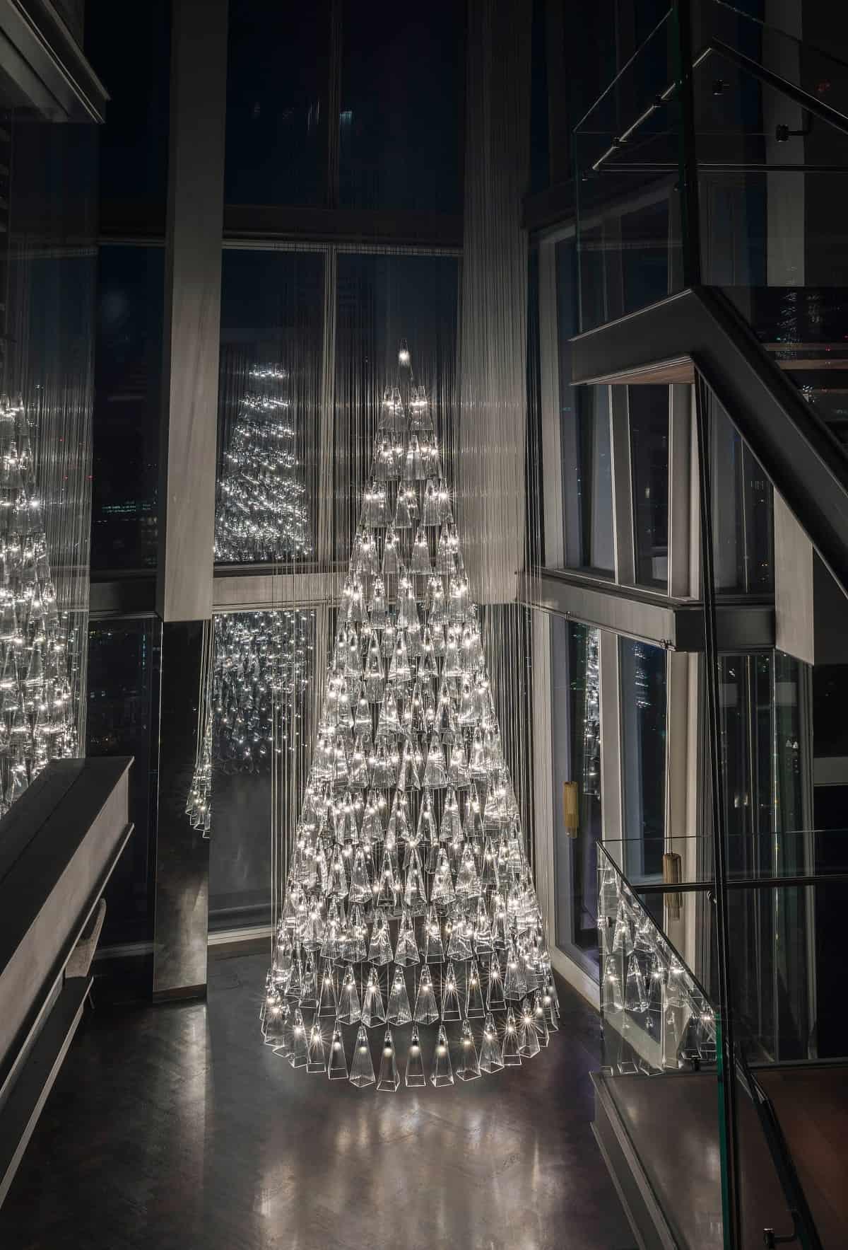 Originales y sorprendentes árboles de diseño para Navidad 2