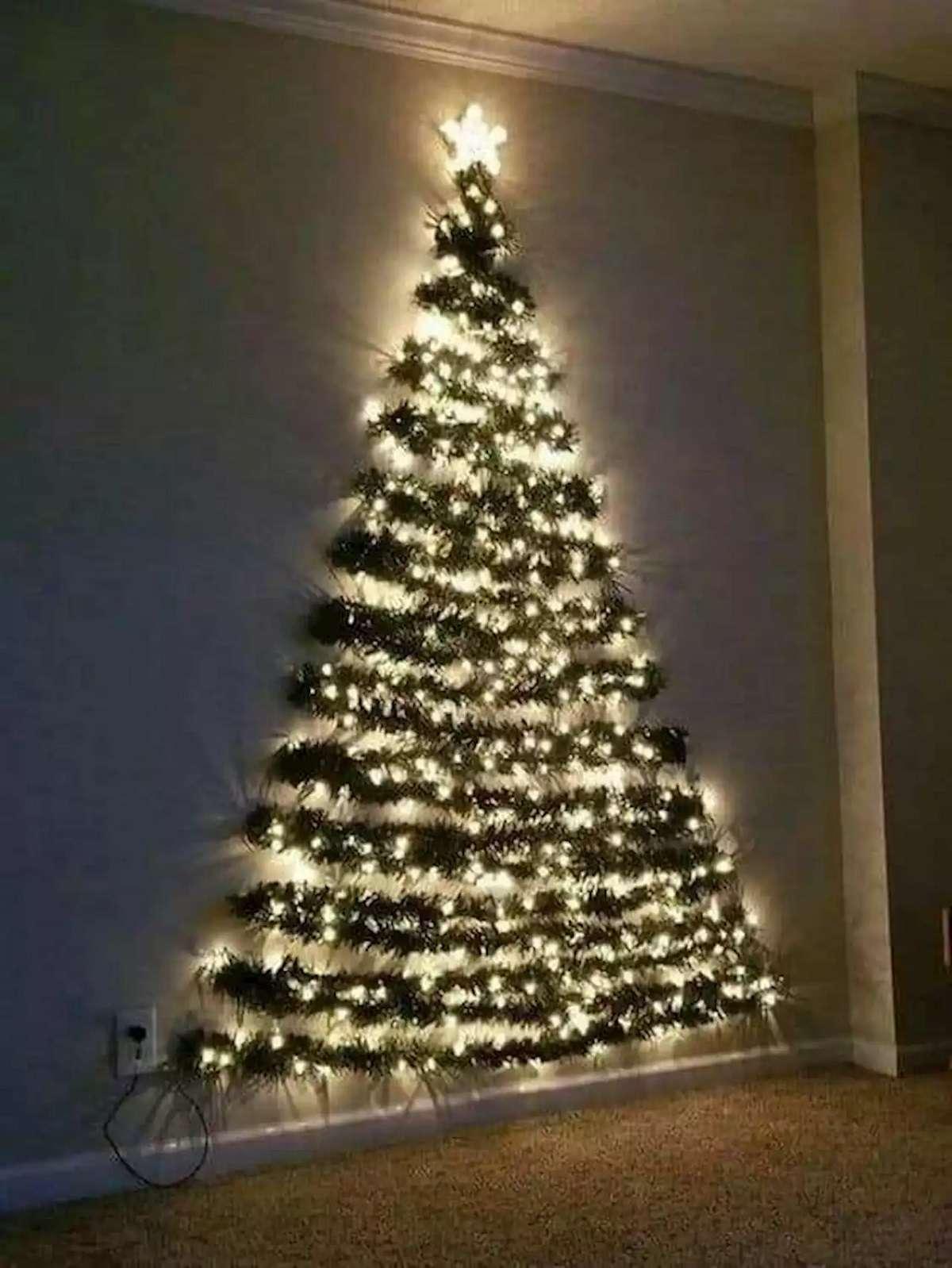 Árboles de Navidad originales y caseros para decorar tu casa 8