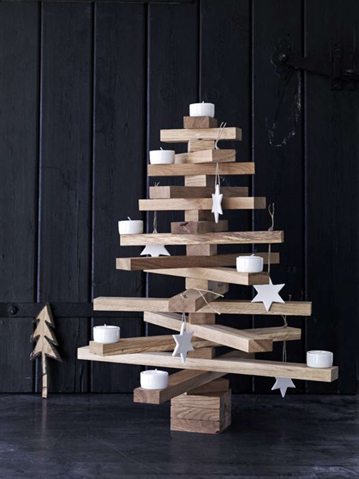 Árboles de Navidad originales y caseros para decorar tu casa 2