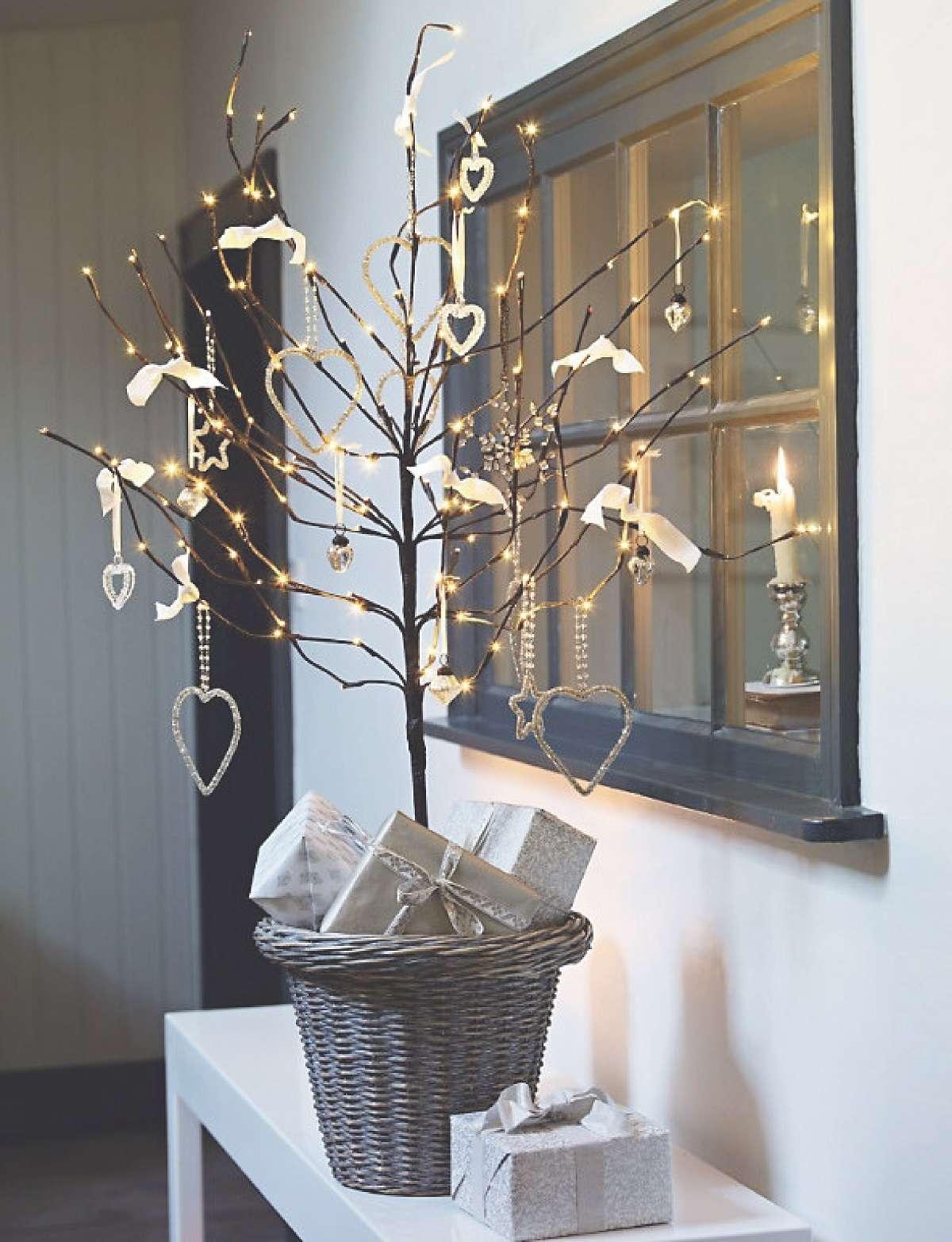 Árboles de Navidad originales y caseros para decorar tu casa 11