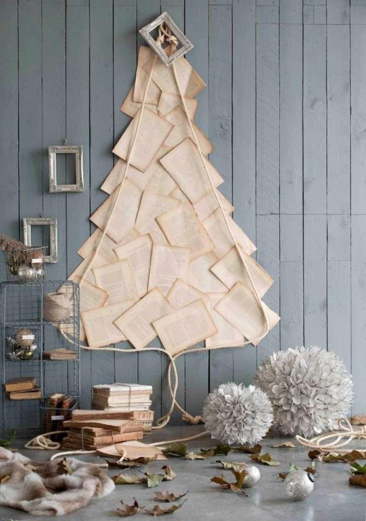 Árboles de Navidad originales y caseros para decorar tu casa 4