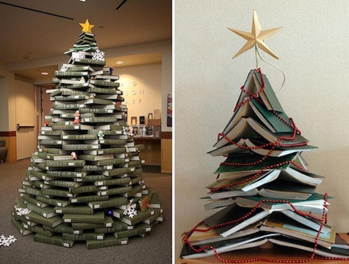 Árboles de Navidad originales y caseros para decorar tu casa 3