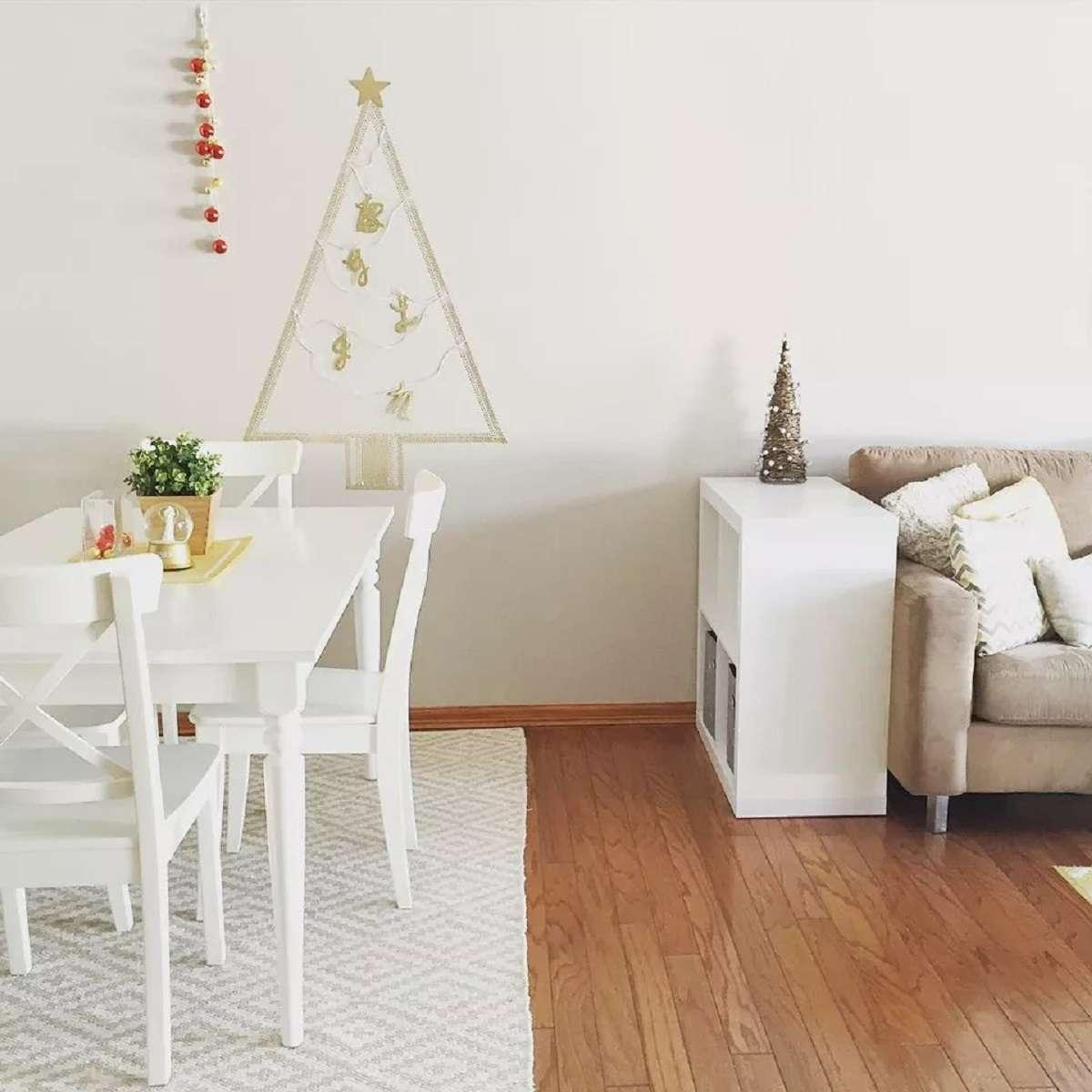 Árboles de Navidad originales y caseros para decorar tu casa 12