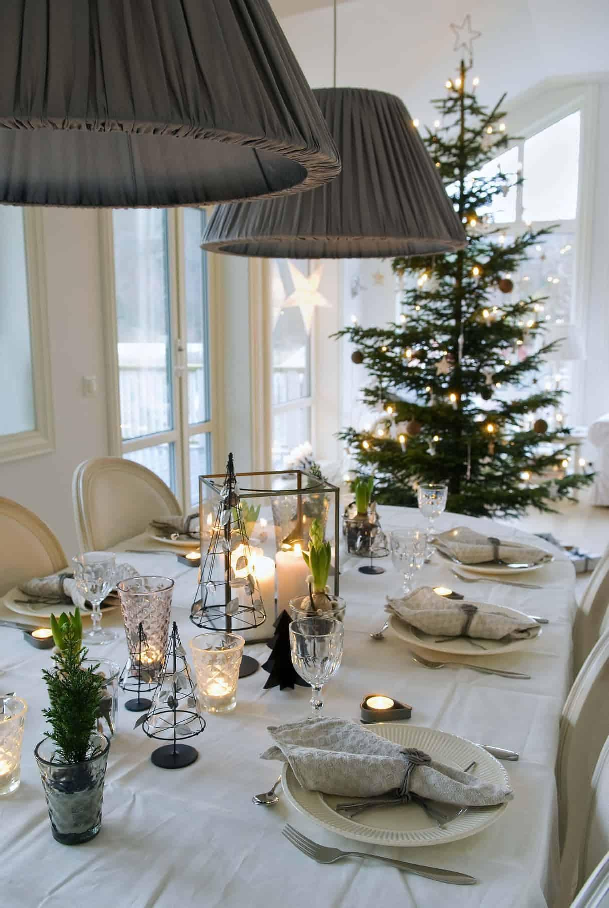 Cómo presentar una mesa de Navidad perfecta 11