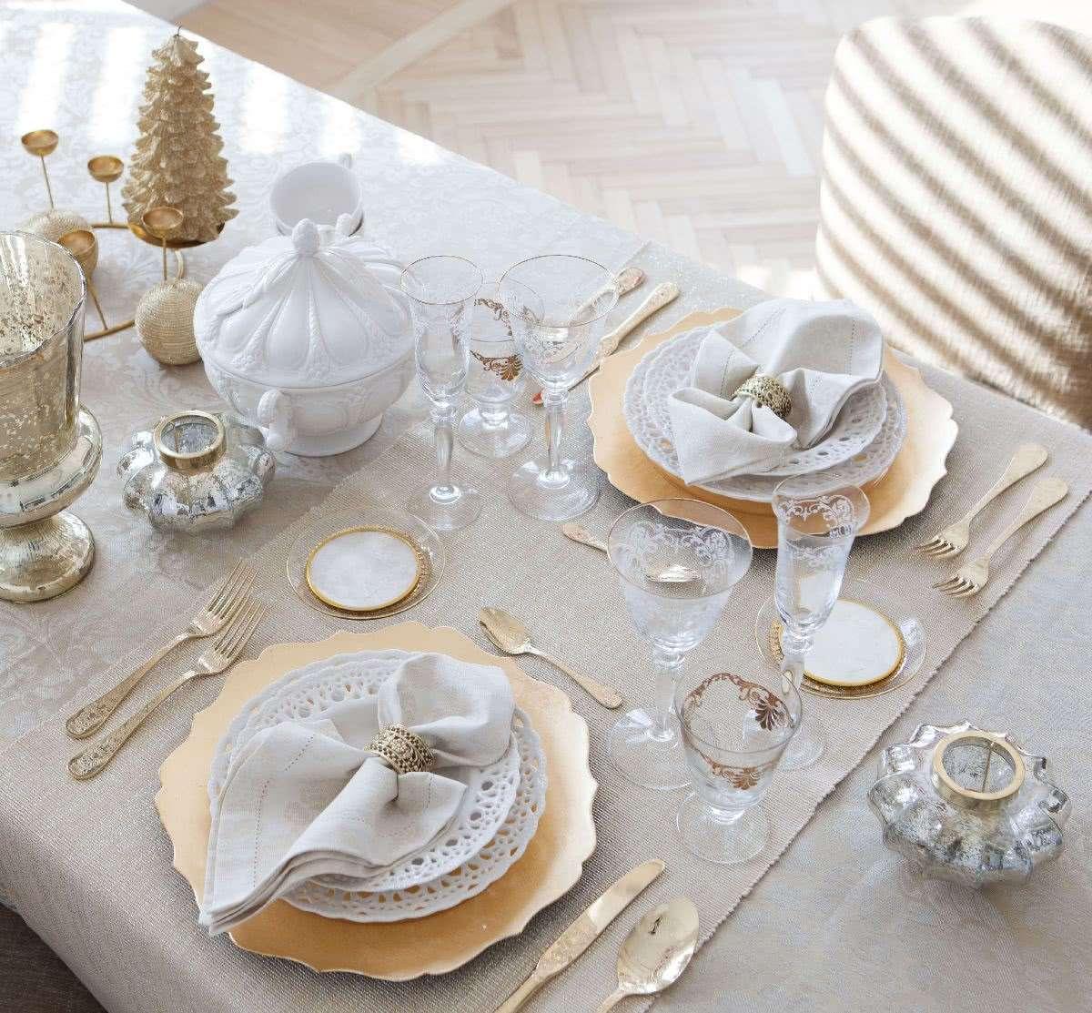 Cómo presentar una mesa de Navidad perfecta 5