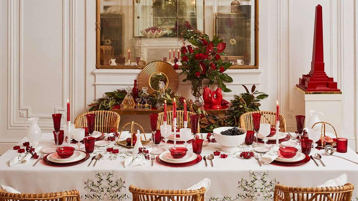 Cómo presentar una mesa de Navidad perfecta 22