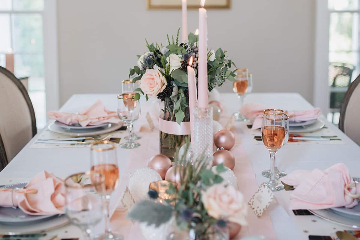 Cómo presentar una mesa de Navidad perfecta 12