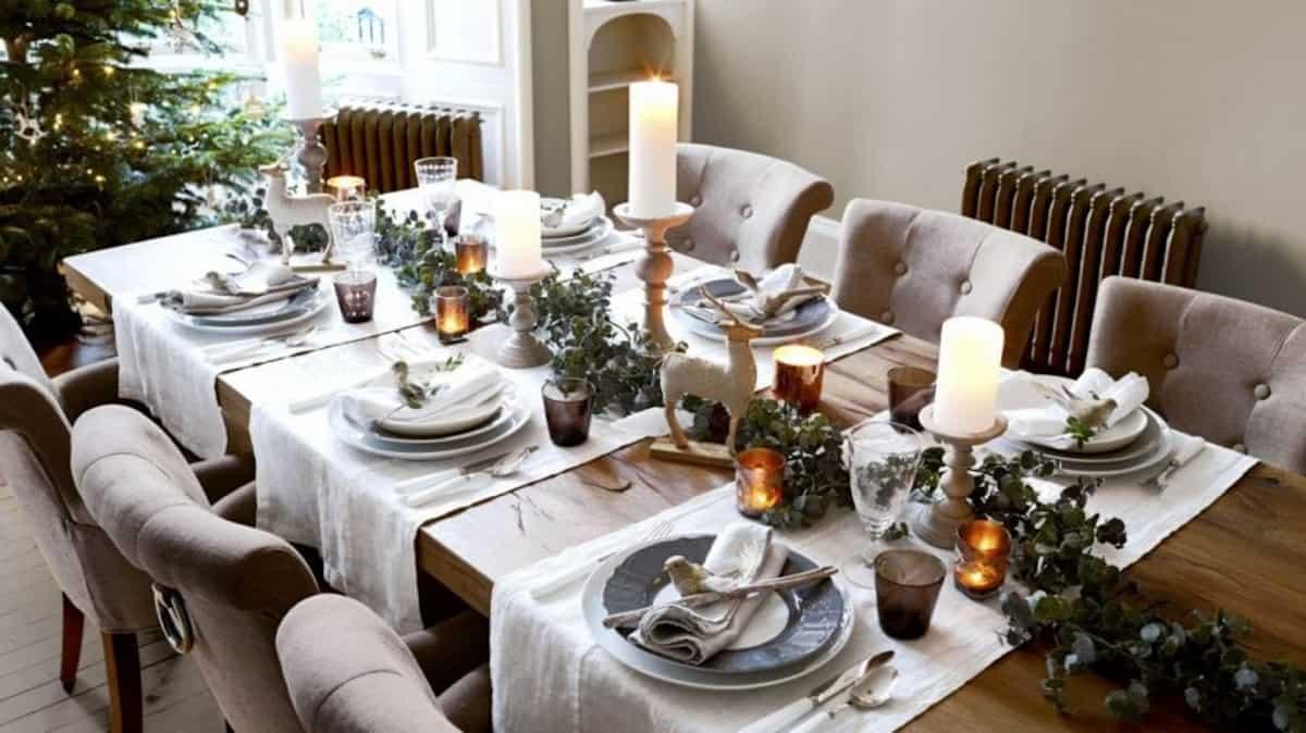 Cómo presentar una mesa de Navidad perfecta 2