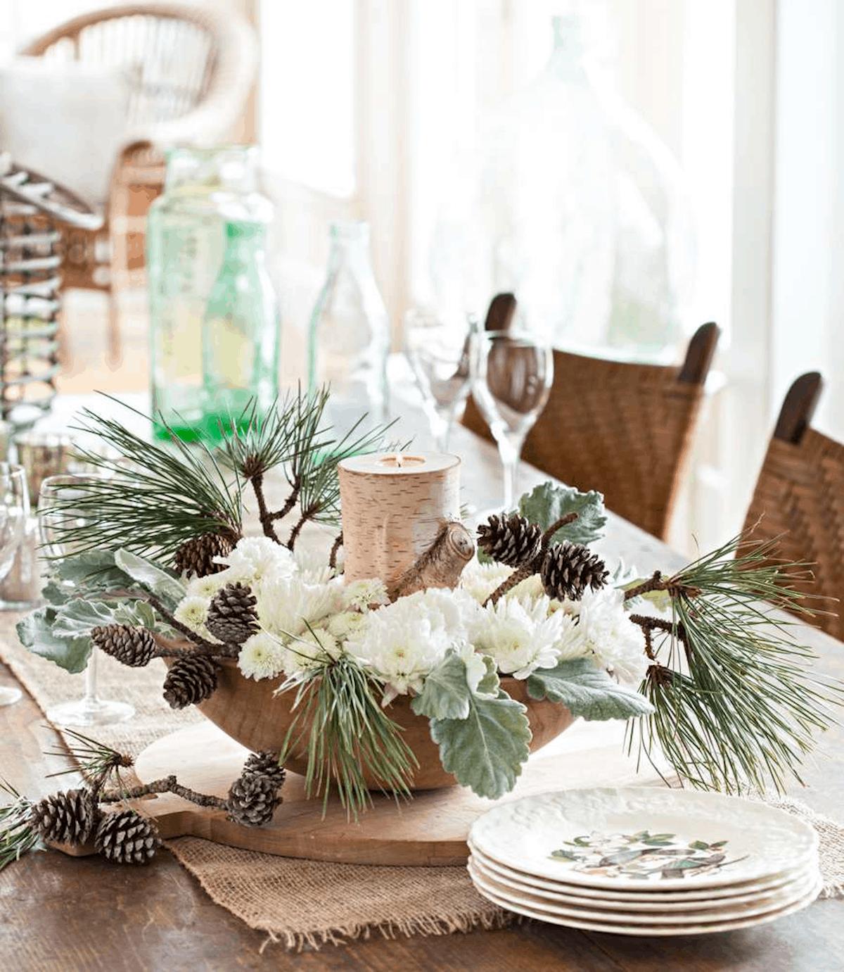 Cómo presentar una mesa de Navidad perfecta 6