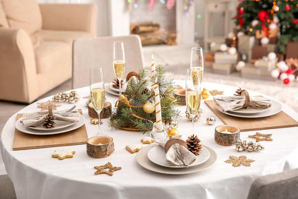 Cómo presentar una mesa de Navidad perfecta 1