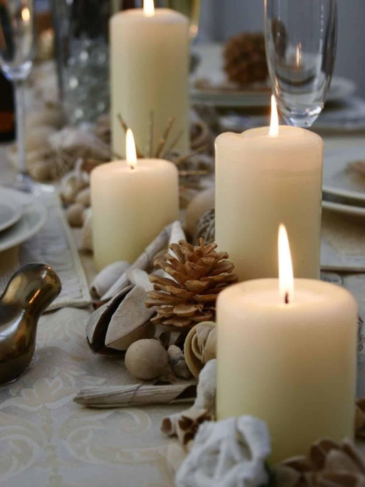 Cómo presentar una mesa de Navidad perfecta 9