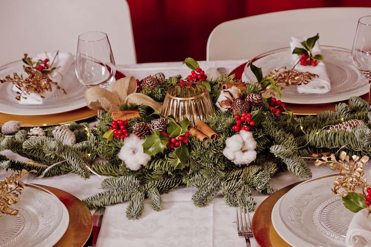 Cómo presentar una mesa de Navidad perfecta 8
