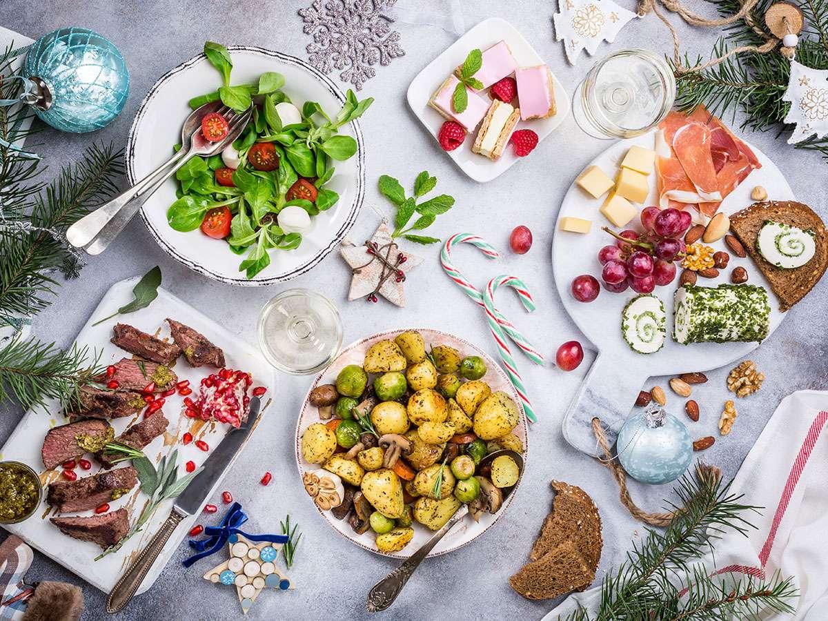 Recetas bajas en calorías para las comidas y cenas navideñas 1