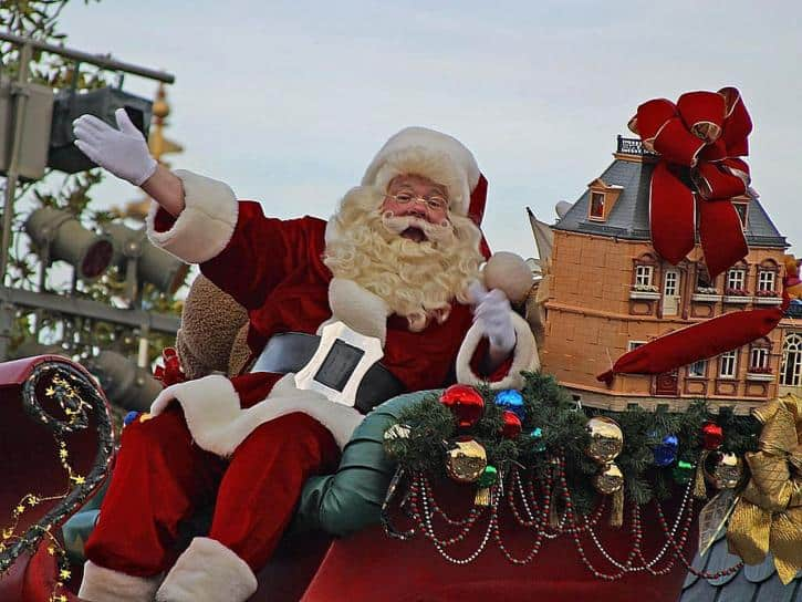 Si Papá Noel repartiera los regalos en coche, ¿cuánto tardaría?