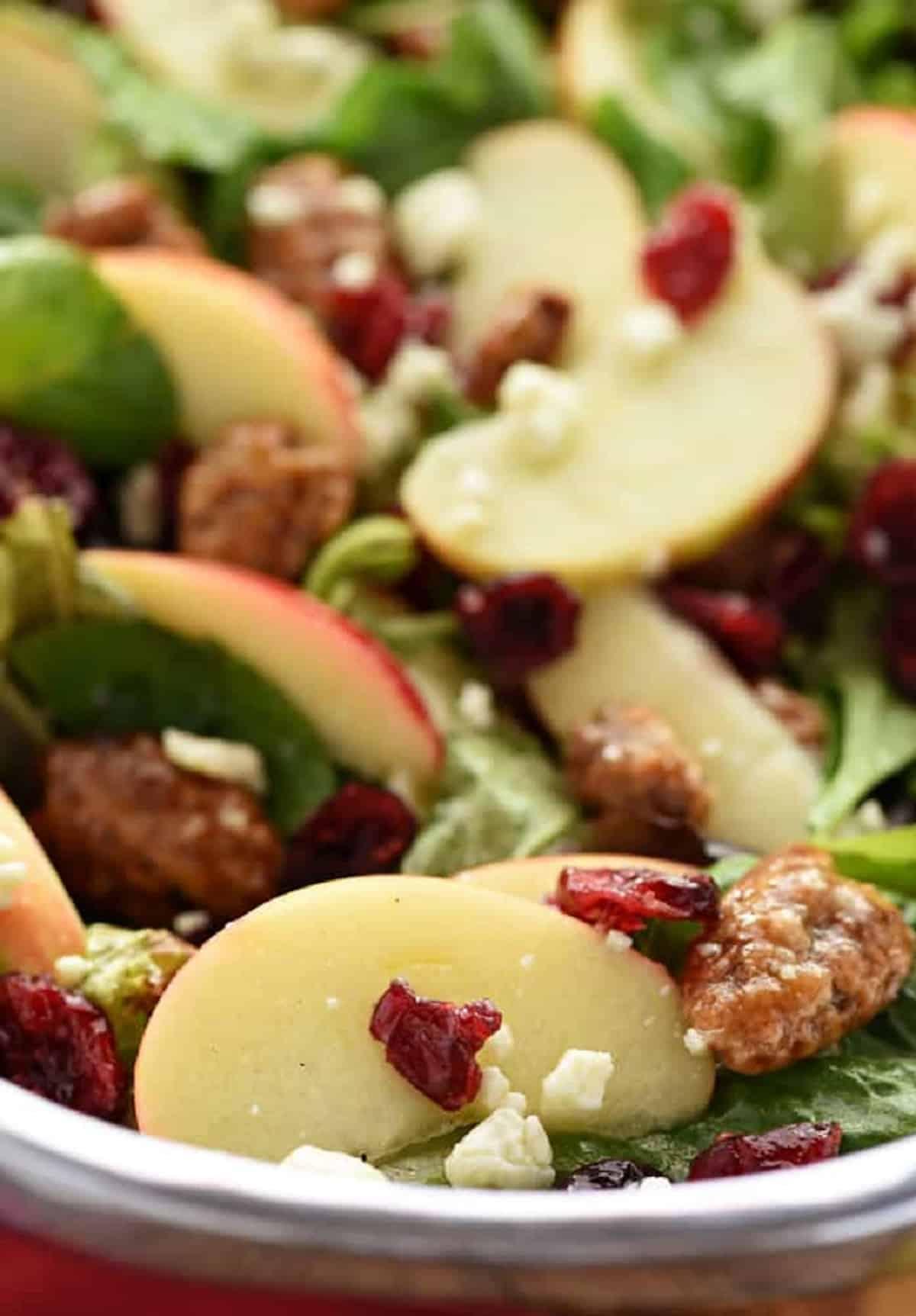 Recetas de ensaladas ligeras y saludables para Navidad 3