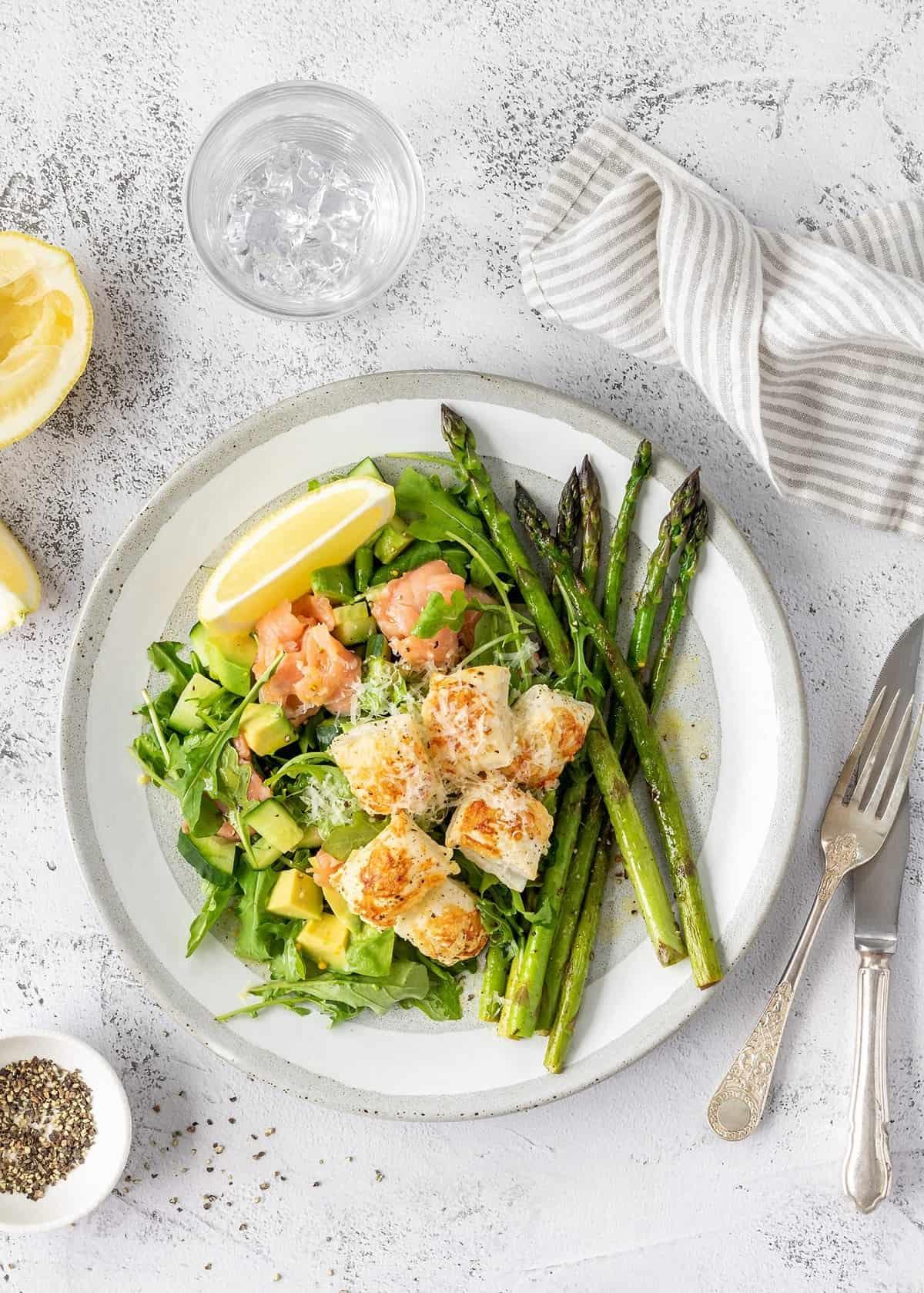 Recetas de ensaladas ligeras y saludables para Navidad 2